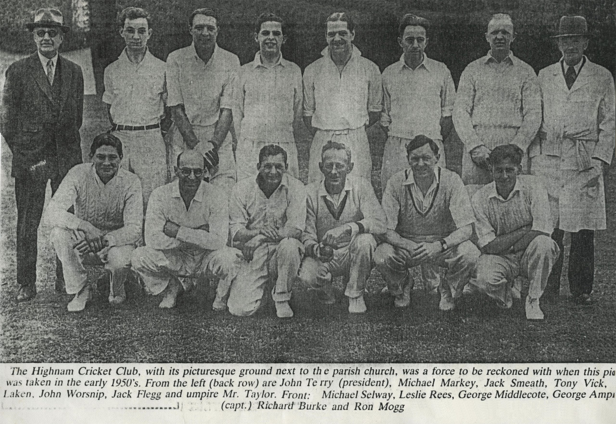 Highnam Court CC – Started in the early days of the Gambier Parrys